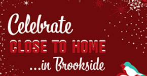 Brookside 2012 Holiday Poster