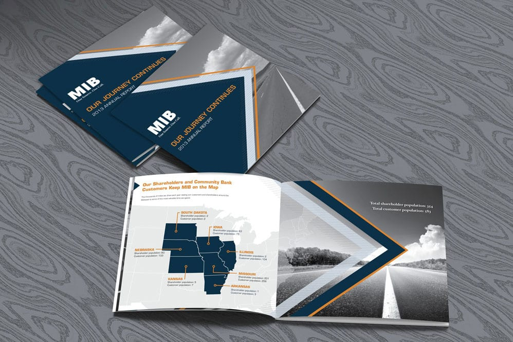 Midwest Independent Bank Annual Report | EAG Advertising