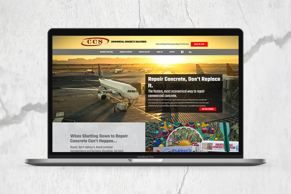 CCSG Website Design