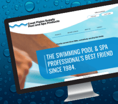 Great Plains Pool Supply Website Redesign